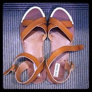 Steve Madden Bailey Cognac Sandals